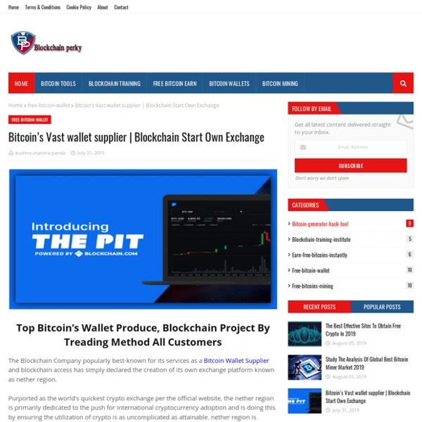 Bitcoin's Vast wallet supplier