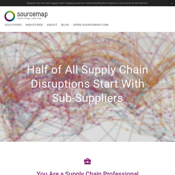 Sourcemap: where things come from