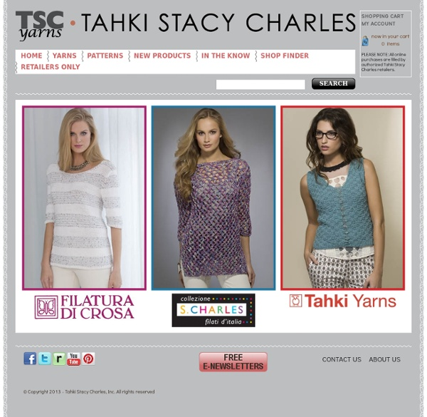 Tahki Stacy Charles, Inc., Supplying Knitters with Fabulous Fibers and Yarn