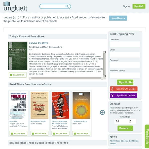 Support Free eBooks