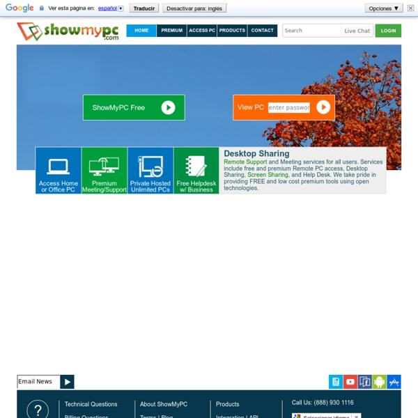 Compartir escritorio PC con archivo ejecutable