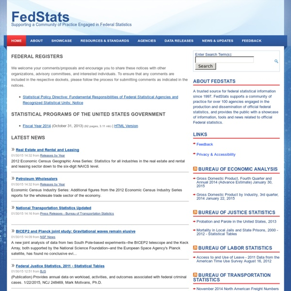 Supporting a Community of Practice Engaged in Federal Statistics