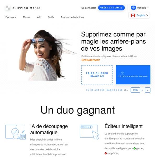 Clipping Magic : Détourez instantanément vos images en ligne