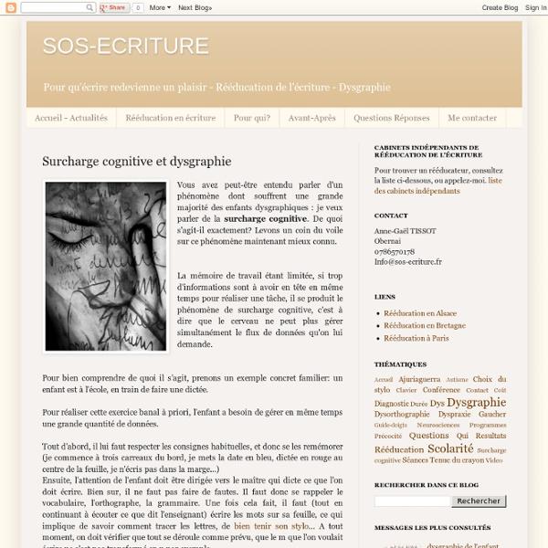 Surcharge cognitive et dysgraphie