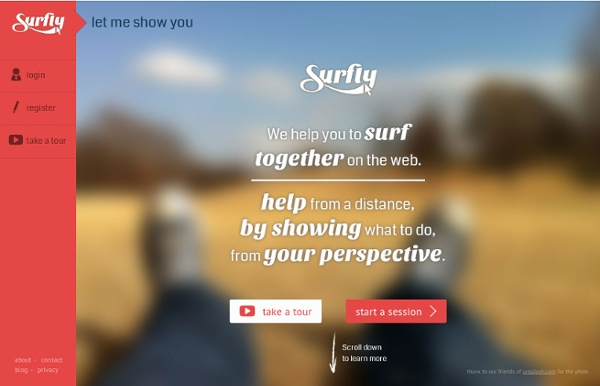 Surfly - Surf together on the web