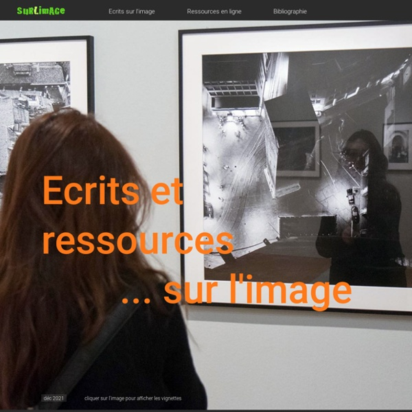 Surlimage - Ecrits et ressources sur l'image
