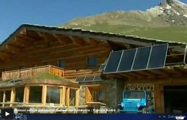 Maison refuge autonome, moteur surnuméraire : Fabrice André