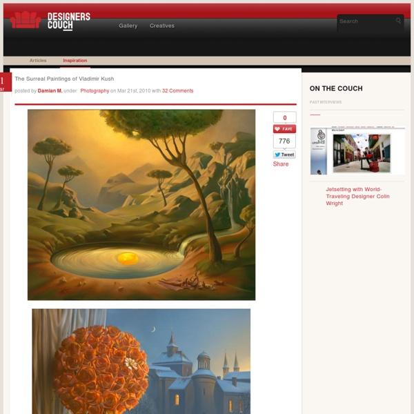 The Surreal Paintings of Vladimir Kush