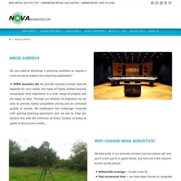 Noise Survey Reports