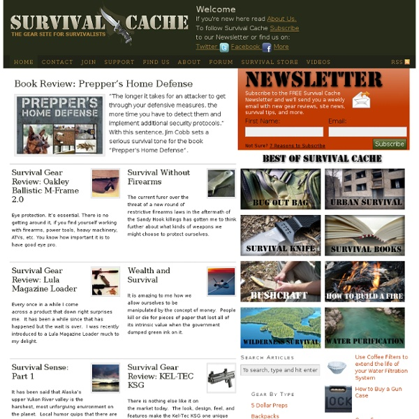 Survival Cache — The Gear Site for Survival