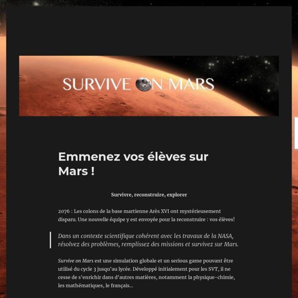 Survive on Mars