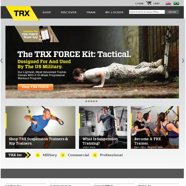 Suspension Training With TRX - A Total Body Workout