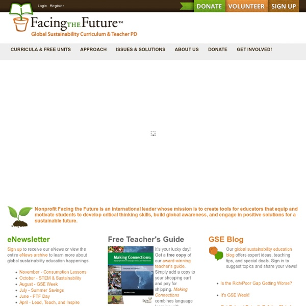 Global Sustainability Education Resources