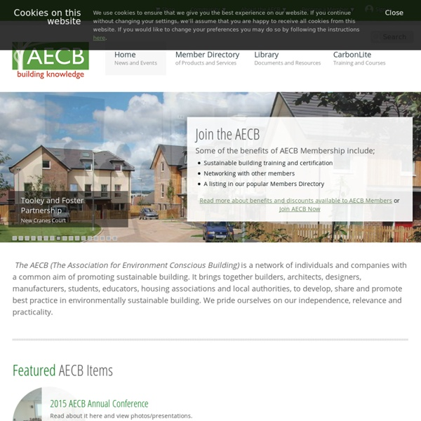 AECB Home Page -