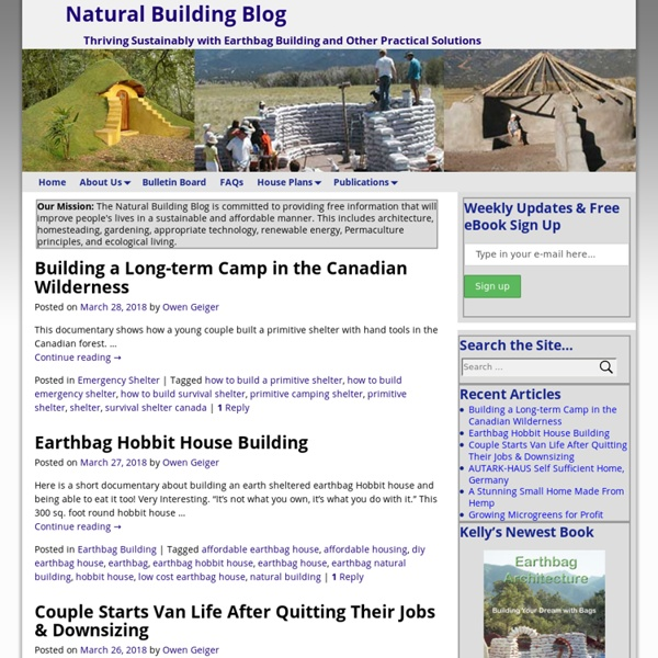 Natural Building Blog