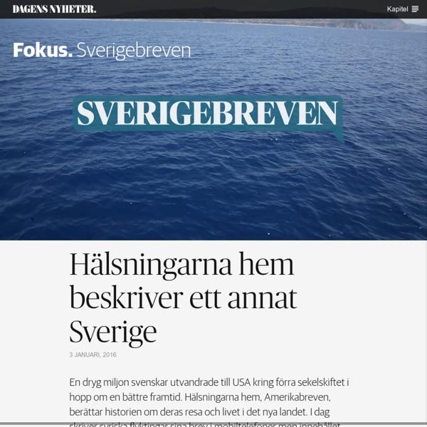 Sverigebreven - DN Fokus