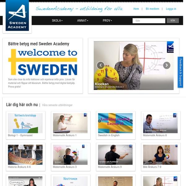 Sweden Academy