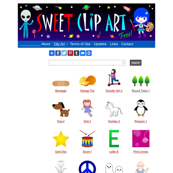 Sweet Clip Art - Cute Free Clip Art and Coloring Pages