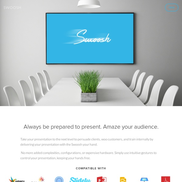 Swoosh Gesture Presentation