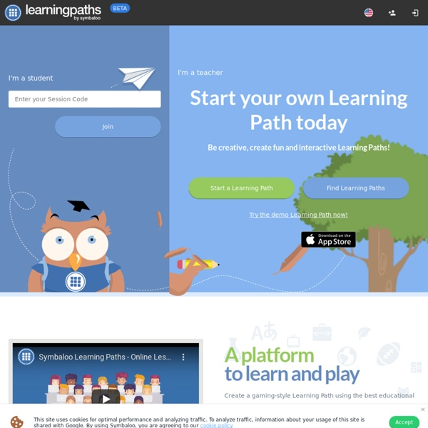 Symbaloo Learning Paths