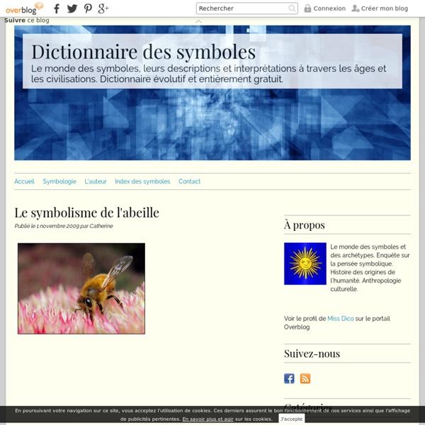 Le symbolisme de l'abeille - Dictionnaire des symboles