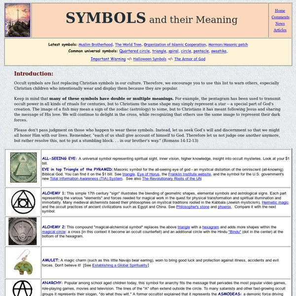 Symbols And Their Meaning Pearltrees