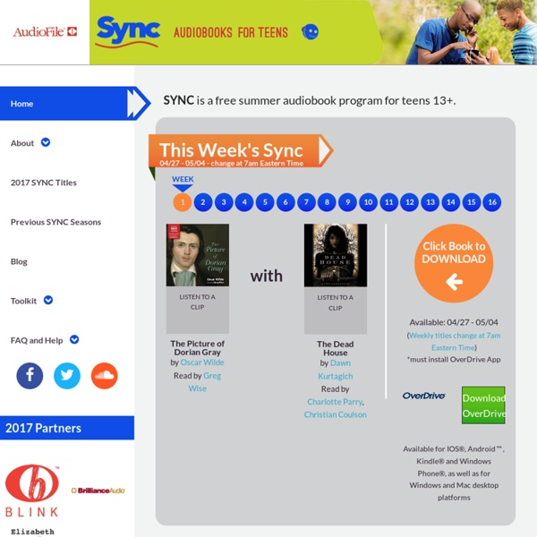 SYNC » YA Literature into Your Earphones