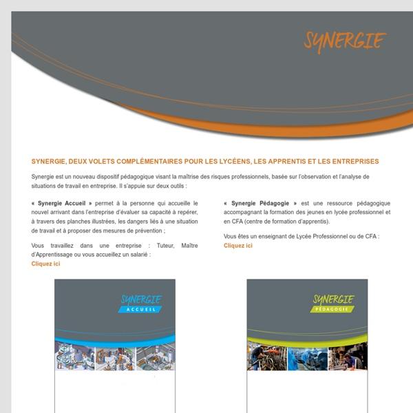 Synergie - aide la personne qui accueille le nouvel arrivant dans l'entreprise - INRS