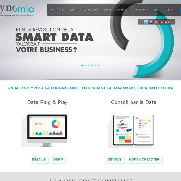 Synomia Agence Conseil en Data Analytics