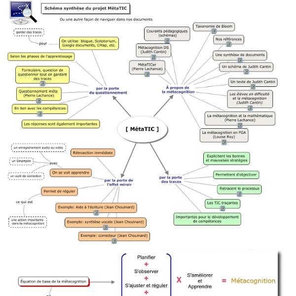 Synthèse du projet MétaTIC
