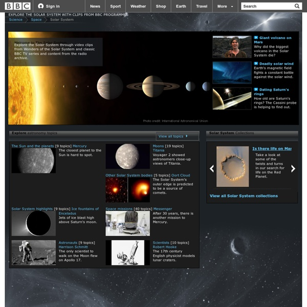 BBC Solar System – Discover the beauty and strangeness of space