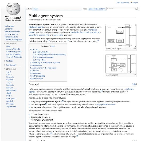 Multi-agent system
