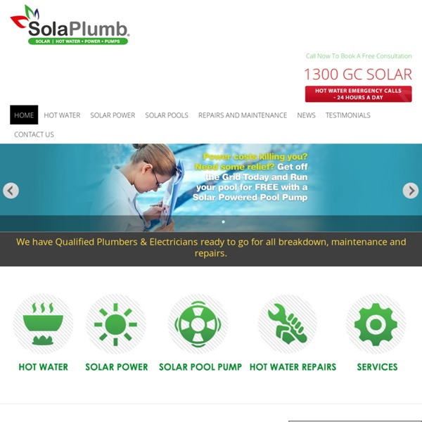 Call For Hot Water Systems on the Gold Coast
