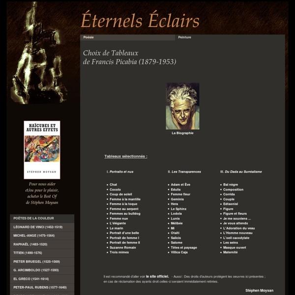 Tableaux de Francis Picabia