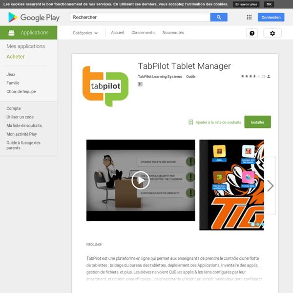 TabPilot Tablet Manager