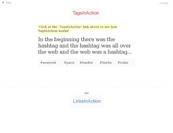 TagsInAction