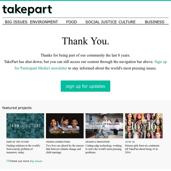 TakePart - Inspiration to Action