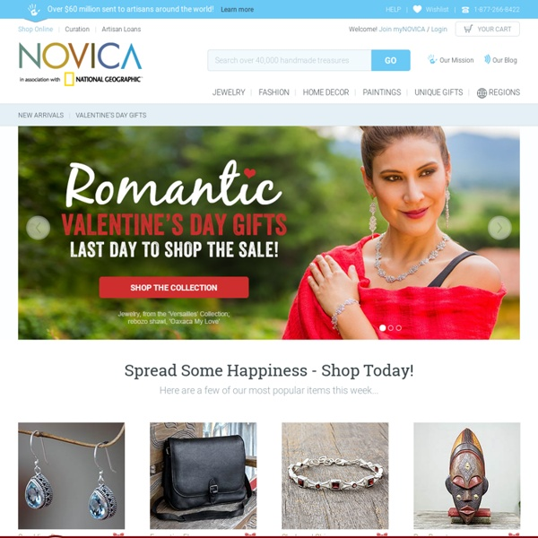 NOVICA - Home Decor, Jewelry & Gifts by Talented Artisans Worldwide