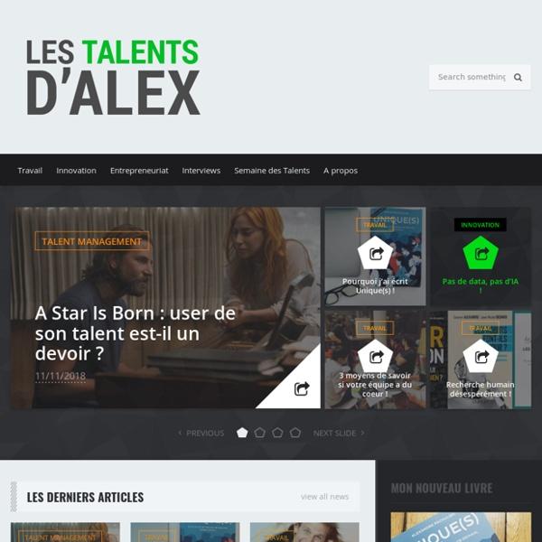 Les Talents d'Alex — Le blog RH sur la gestion des talents en entreprise