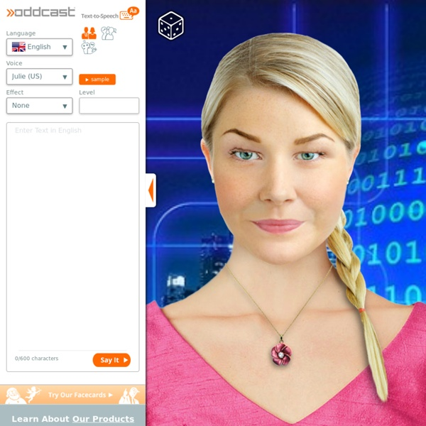 Best Text-to-Speech Demo: Create Talking Avatars and Online Characters | SitePal TTS Demo