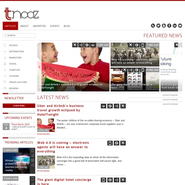 Tnooz - Talking travel technology