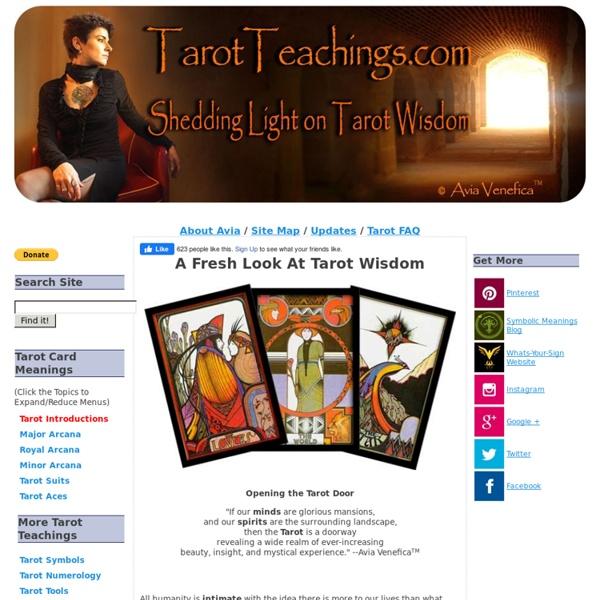 Tarot Teachings: The Art of Learning and Using Tarot