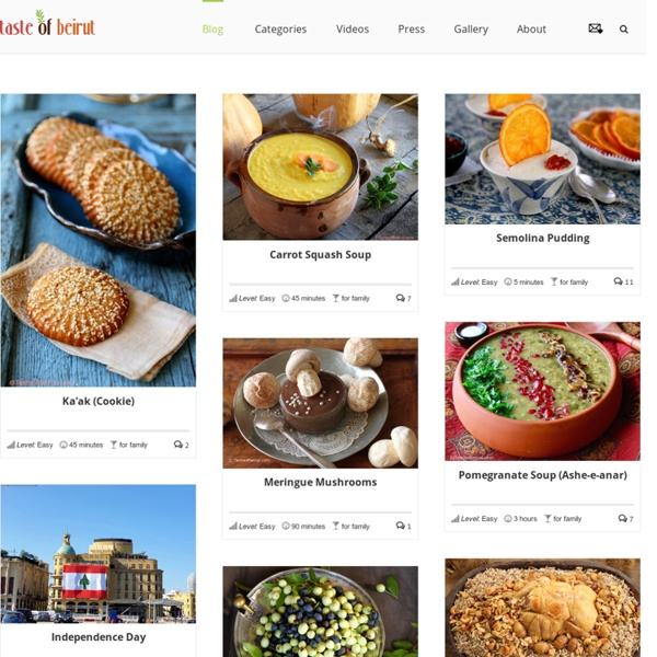 Lebanese food recipes for home cooking