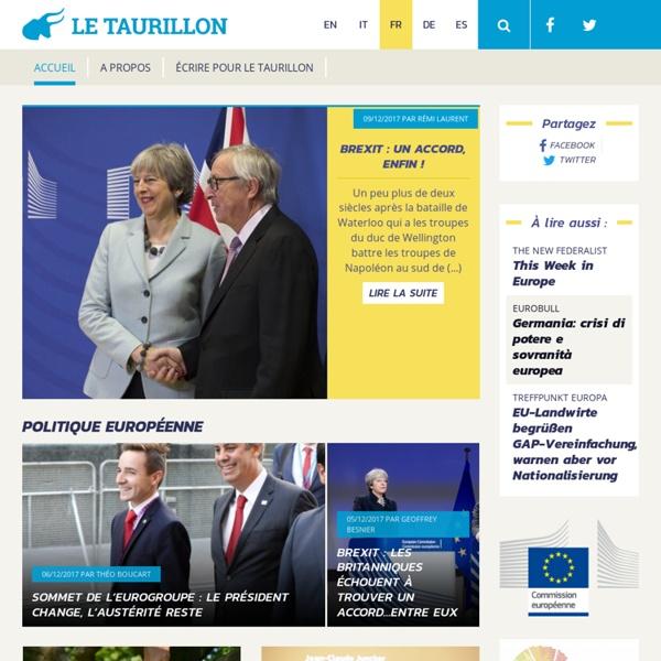 Le Taurillon, magazine eurocitoyen