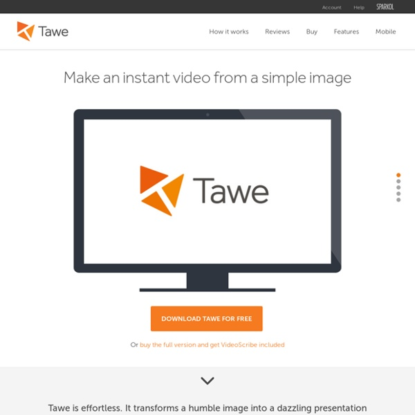 Tawe: Videos made easy from a simple image