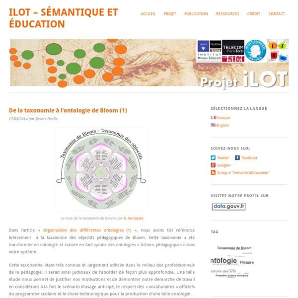 De la taxonomie à l'ontologie de Bloom (1)