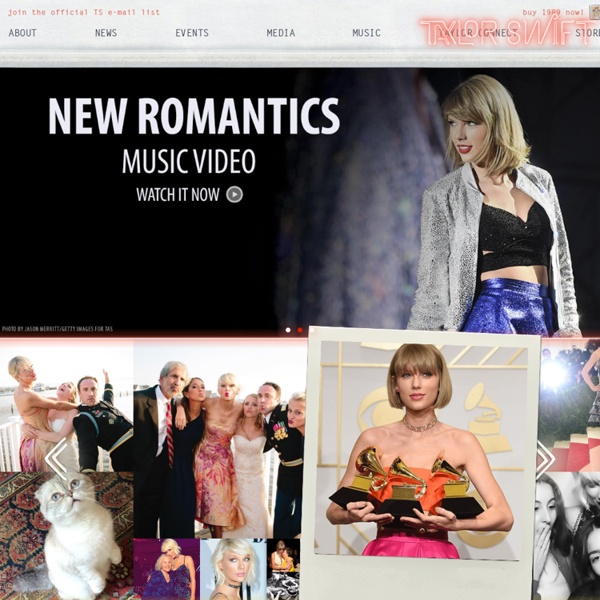 Taylor Swift Official Website Pearltrees
