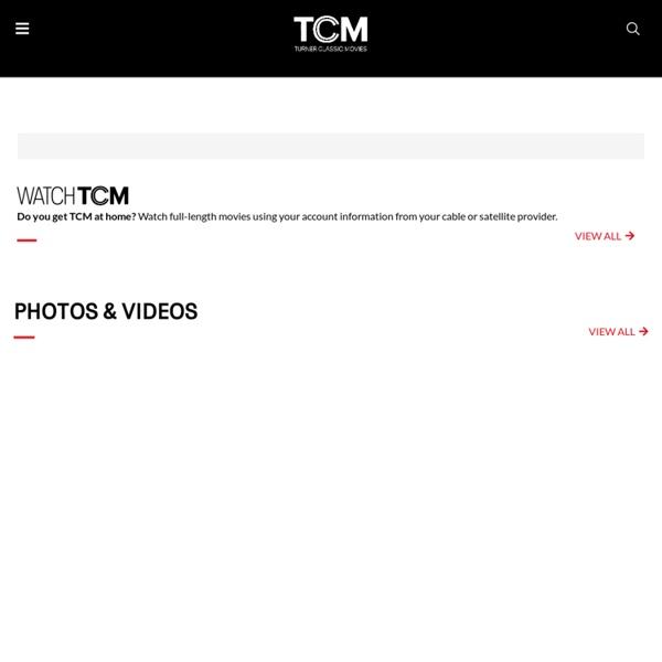 TCM Schedule Turner Classic Movies
