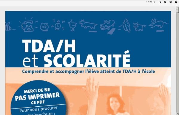Http://tdah.be/site/enseignant/TDAH-SCOLARITE.pdf