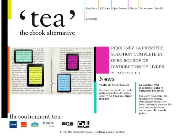 TEA – The Ebook Alternative